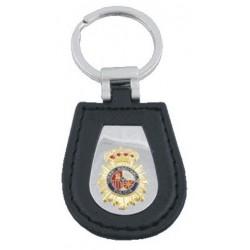 Llavero Lujo Policia Nacional