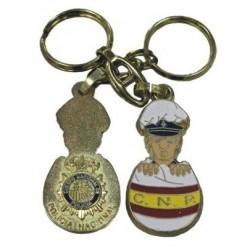 Llavero Huevo Policia Nacional