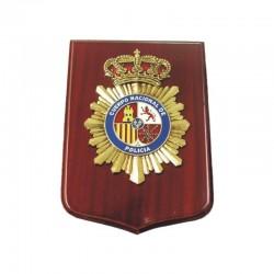 Metopa Madera Grande Policia Nacional