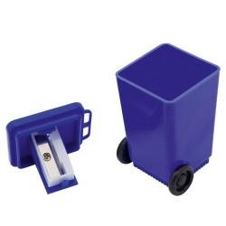 Sacapuntas cubo de basura