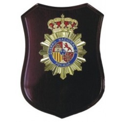 Metopa Madera Policia Nacional