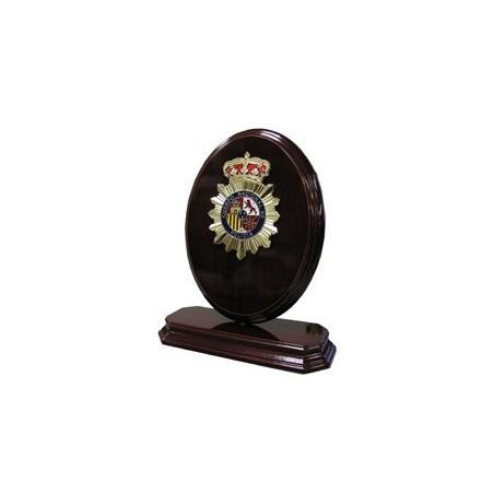 Metopa Ovalo Giro Policia Nacional