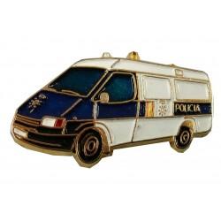 Pin Furgoneta Policia