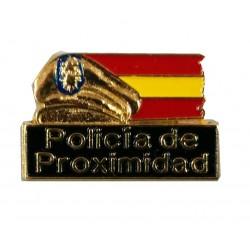 Pin Subsuelo Policía