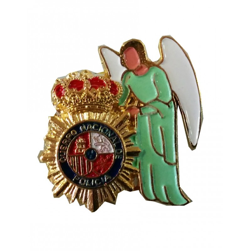 Pin Angel Custodio Policia