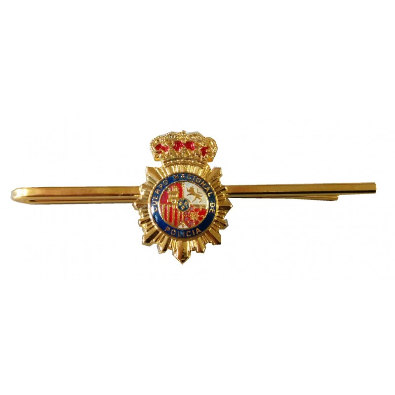 Pisacorbata Policia Escudo Color