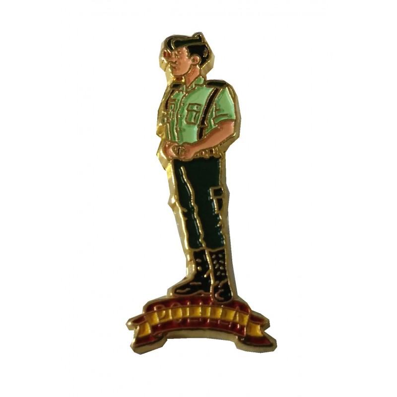 Pin Guardia Civil Guardia Polilla
