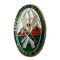 Pin Guardia Civil Escudo Helicopteros