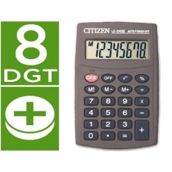 CALCULADORA CITIZEN BOLSILLO LC-210 II 8 DIGITOS