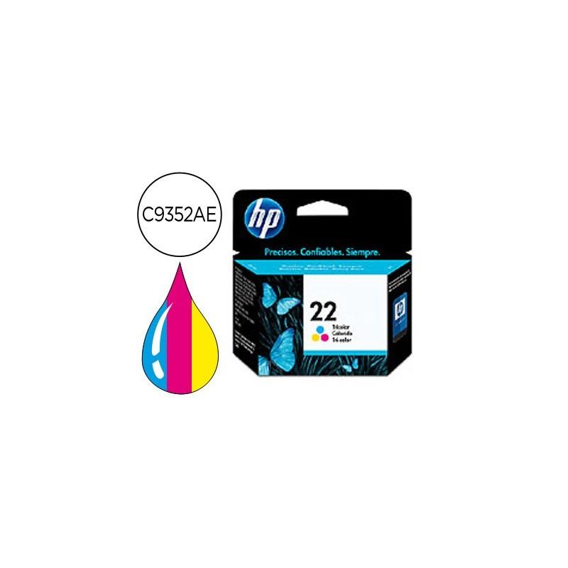 INK-JET HP N.22 TRICOLOR -5ML- DJ 3920/3940/D2360/F380 PSC 1410