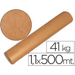 PAPEL KRAFT MARRON 1,10 MT X 500 MTS ESPECIAL PARA EMBALAJE