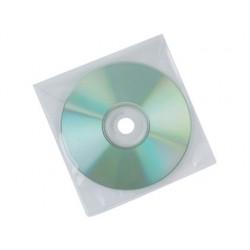 SOBRE PARA CD Q-CONNECT POLIPROPILENO CON SOLAPA -PACK DE 50 UNIDADES