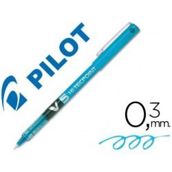 ROTULADOR PILOT PUNTA AGUJA V-5 AZUL CLARO 0.5 MM