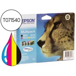 INK-JET EPSON STYLUS D78 D92 D120 DX4000 4050 4400 4450 5000 5050 600 6050 7000F 8400 MULTIPACK-T071140+240+340+440-