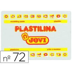 PLASTILINA JOVI 72 BLANCO -UNIDAD -TAMA?O GRANDE