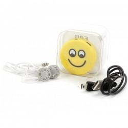 MP3 EMOTICONO EN CAJA DE REGALO (CABLE+CASCOS)