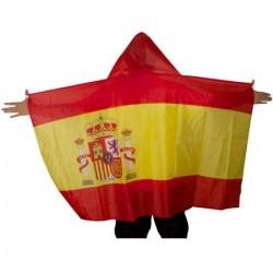 PONCHO BANDERA ESPAÑOLA