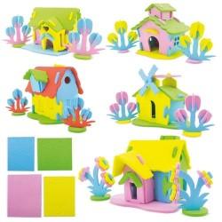 PUZZLE EVA HOUSE ( 5 UNIDADES)