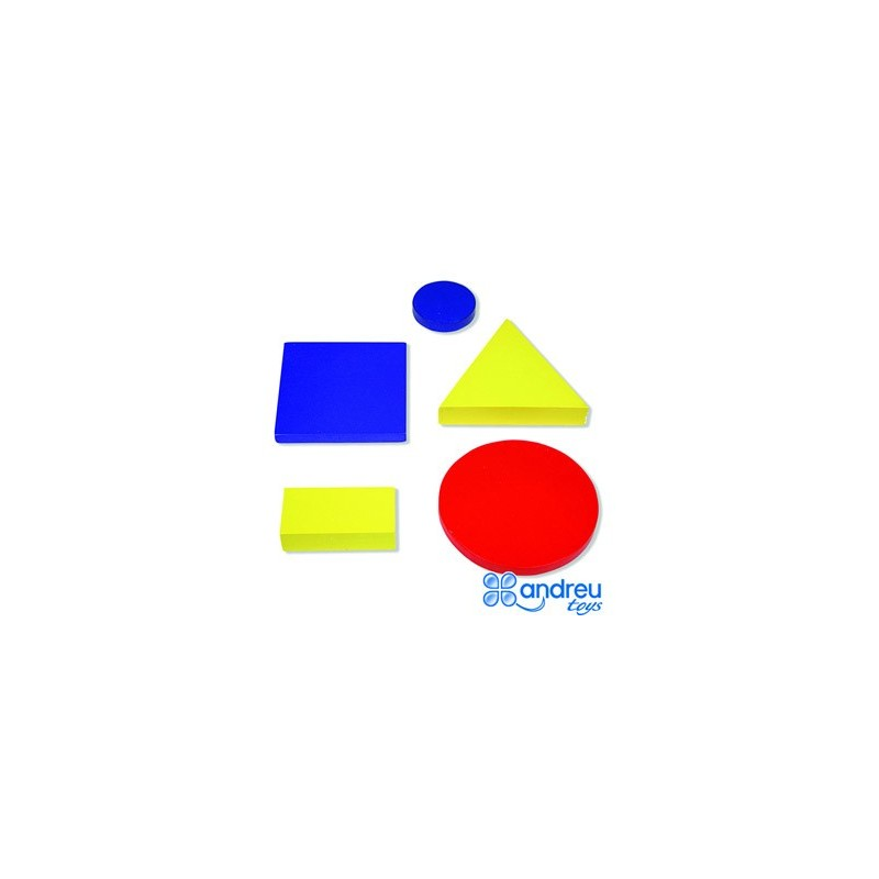 Juego Ambitoys Figuras Geometricas Madera 48 Piezas 245x15x8 Cm