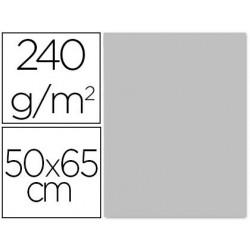 CARTULINA LIDERPAPEL 50X65 CM 240G/M2 GRIS PAQUETE DE 25 UNIDADES