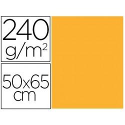 CARTULINA LIDERPAPEL 50X65 CM 240G/M2 ORO PAQUETE DE 25 UNIDADES