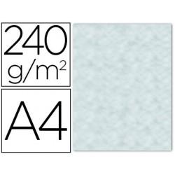 PAPEL COLOR LIDERPAPEL PERGAMINO A4 240G/M2 AZUL PACK DE 25 HOJAS