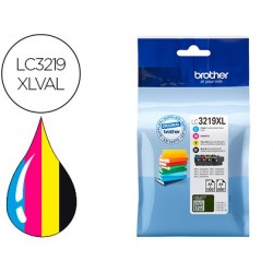 INK-JET BROTHER LC3219XLVAL MULTIPACK 4 COLORES NEGRO /...