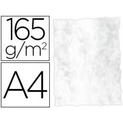 PAPEL COLOR LIDERPAPEL PERGAMINO CON BORDES A4 165G/M2 GRIS PACK DE 25 HOJAS