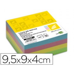 RECAMBIO LIDERPAPEL MULTITACO COLORES TAMA?O 95X90X40 MM