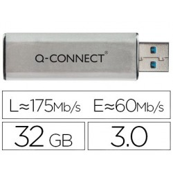 MEMORIA USB Q-CONNECT FLASH 32 GB 3.0
