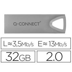 MEMORIA USB Q-CONNECT FLASH PREMIUM 32 GB 2.0