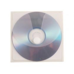 SOBRE PARA CD Q-CONNECT POLIPROPILENO AUTOADHESIVO CONVELCRO-BOLSA CON 5 UNIDADES-