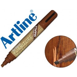 ROTULADOR ARTLINE MARCADOR PERMANENTE EK-95 FURNITURE MAPLE-ARCE PUNTA BISELADA 2,0-5,0 MM EN BLISTER BRICO