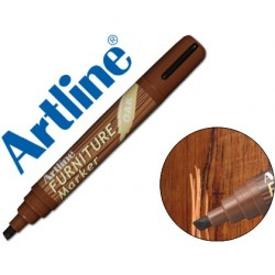 ROTULADOR ARTLINE MARCADOR PERMANENTE EK-95 FURNITURE OAK-ROBLE PUNTA BISELADA 2,0-5,0 MM EN BLISTER BRICO