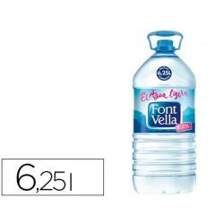 AGUA MINERAL NATURAL FONT VELLA SANT HILARI 6,25L