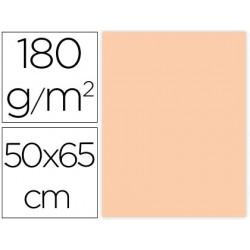 CARTULINA LIDERPAPEL 50X65 CM 180G/M2 CREMA PAQUETE DE 25
