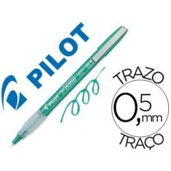 ROTULADOR PILOT PUNTA AGUJA 2005 VERDE -TINTA LIQUIDA