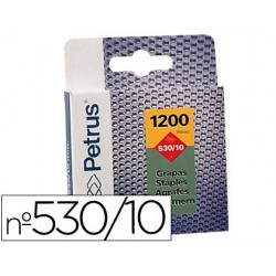 GRAPAS PETRUS N? 530/10 -CAJA DE 1200 GRAPAS