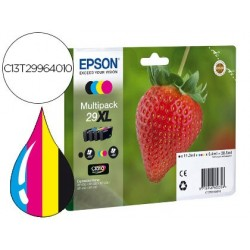 INK-JET EPSON HOME 29XL T2996 XP435/330/235 MULTIPACK 4 COLORES NEGRO/AMARILLO/CIAN/MAGENTA
