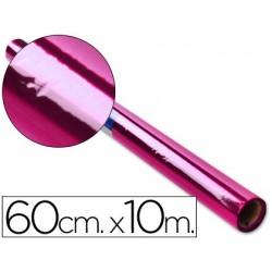 PAPEL CELOFAN LIDERPAPEL ROLLO ROSA -0,60 X 10 MT