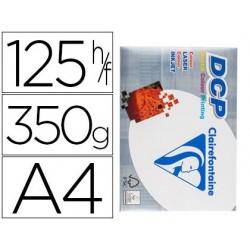 PAPEL FOTOCOPIADORA CLAIREFONTAINE DIN A4 350 GRAMOS PAQUETE DE 125 HOJAS