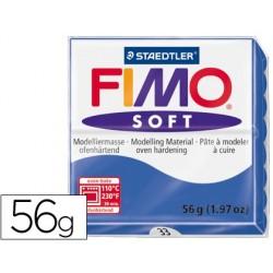 PASTA STAEDTLER FIMO SOFT 56 GR COLOR AZUL BRILLANTE