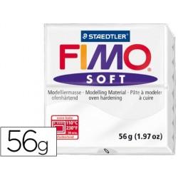 PASTA STAEDTLER FIMO SOFT 56 GR COLOR BLANCO