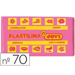 PLASTILINA JOVI 70 ROSA -UNIDAD -TAMA?O PEQUE?O