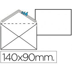 SOBRE BLANCO REGISTRO EXTRA 90 X 140 MM -CAJA 100