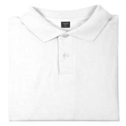 Polo Blanco 100% algodon BARTEL