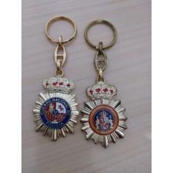 Llavero escudo Brazo Policia Nacional