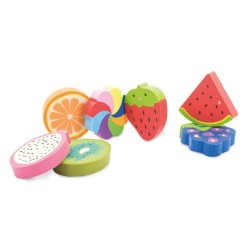 SET DE GOMAS FRESH FRUIT