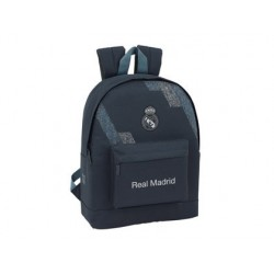 CARTERA ESCOLAR SAFTA REAL MADRID 2 EQUIPACION 18/19 MOCHILA 325X430X150 MM