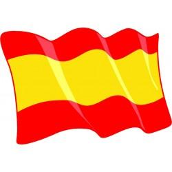 Pegatina Bandera Comunidad de Madrid